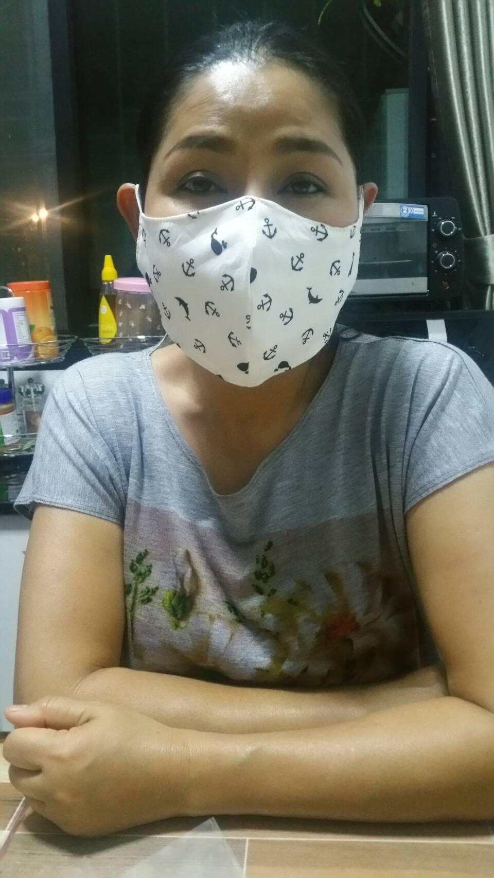 Chacha Wearing Mask
